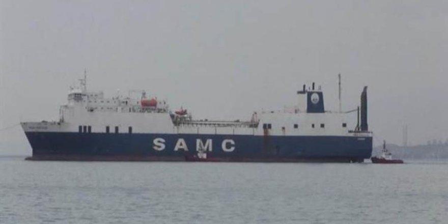 Hacizli gemi, 4 yıl sonra 20 milyon liraya satıldı