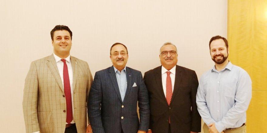 IMEC ve TÜRDEF başkanları bir araya geldi