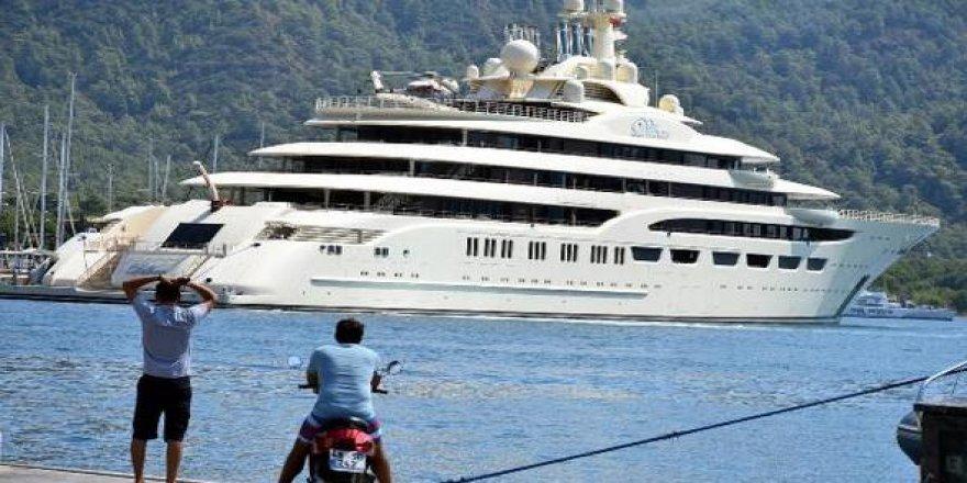 Dünyanın en pahalı  8'inci yatı Marmaris'te