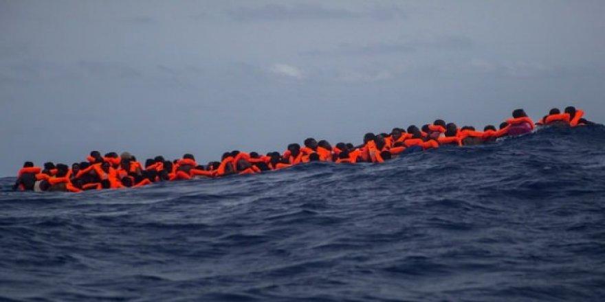 Akdeniz'de yeni facia! 100 göçmen boğuldu