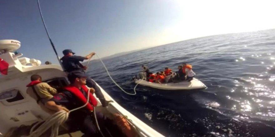 Bodrum'da göçmen teknesi battı: 2 ölü, 1 kayıp