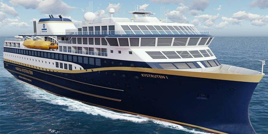 Tersan Havila Kystruten'e iki gemi inşa edecek