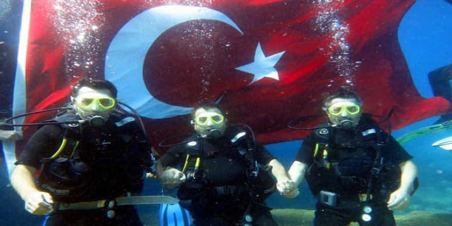 Fethiye'de su altı güzellikleri keşfedilmeyi bekliyor