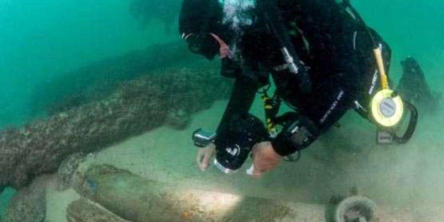 Portekiz'de 400 yıllık gemi enkazı bulundu