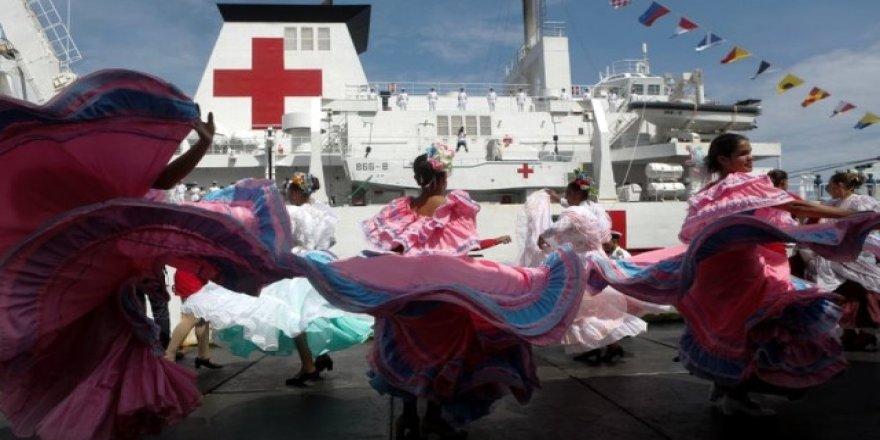Çin, Venezuela'ya 'Yüzen Hastane' gönderdi
