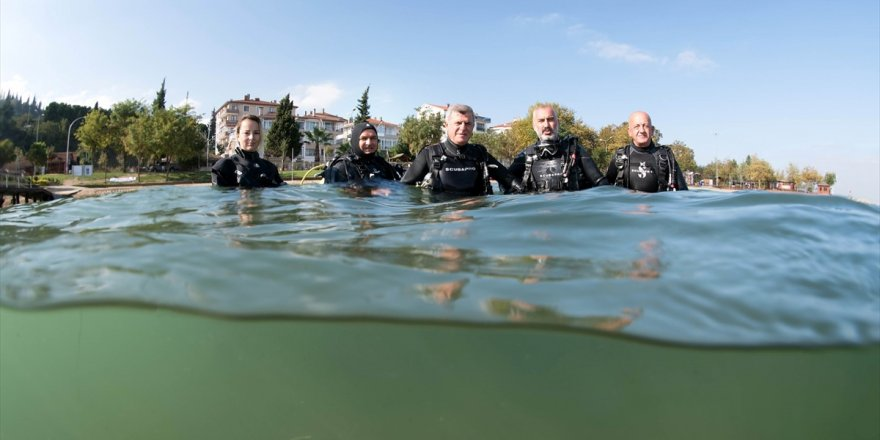 İzmit Körfezi'nin su altı yaşamı film olacak