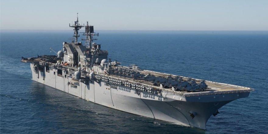 Çin'den ABD uçak gemisine yasak