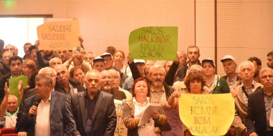 Saros'taki ÇED toplantısında 'imza' gerginliği