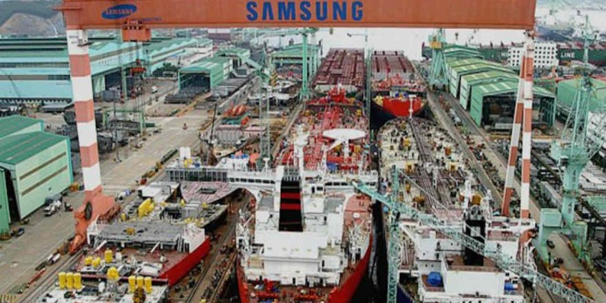 Samsung bu yıl 40 gemi siparişi aldı