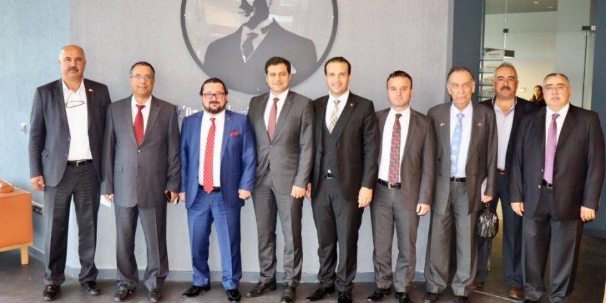DTO Kocaeli Şubesi yeni binasında toplandı