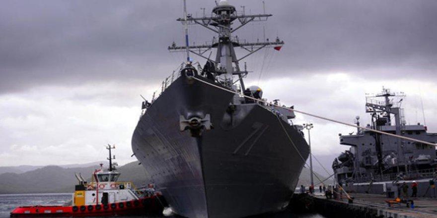 ABD savaş gemisi Aşdod Limanı'na demirledi