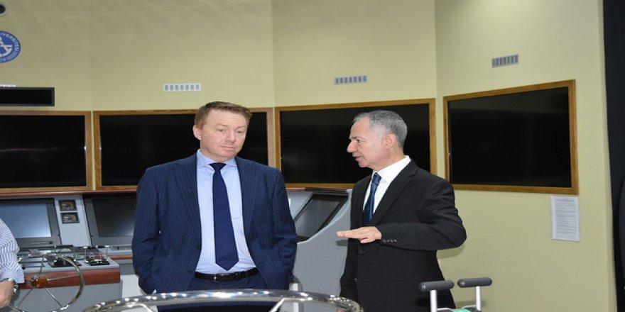 Avustralya Büyükelçisi'nden PRÜ'ye ziyaret
