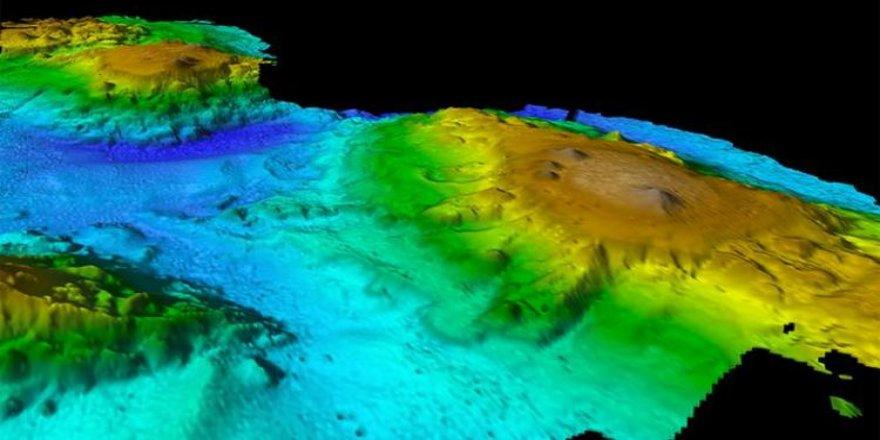 Tasman Denizi'nde su altı volkanları keşfedildi