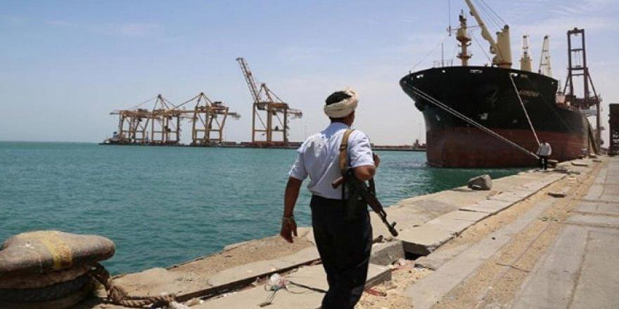 'Yemen'de tankerlerin limana girişi engelleniyor'