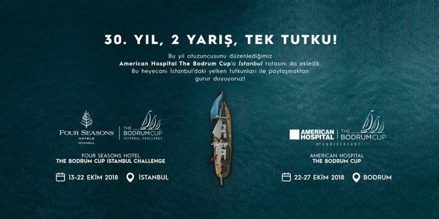 25 mega yat İstanbul Boğazı'ndan süzülecek