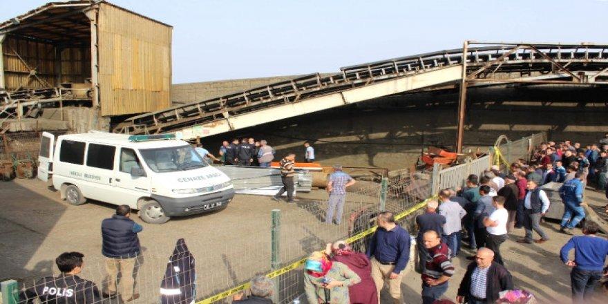 İnebolu Limanı'nda ölümlü kaza