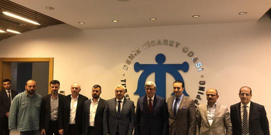 Karaosmanoğlu'ndan, DTO'ya ziyaret