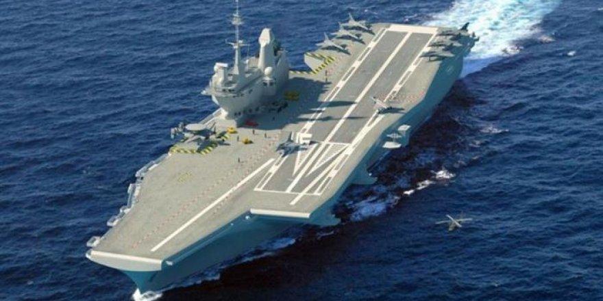 Fransa yeni uçak gemisi için harekete geçti