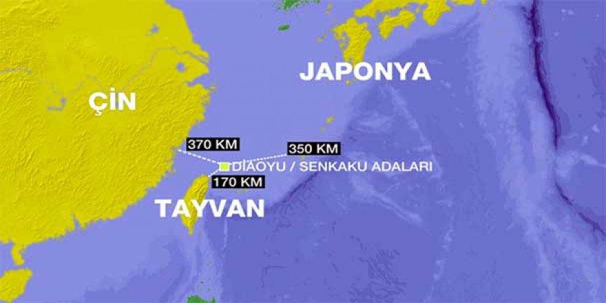 Çin ile ABD arasında Tayvan gerilimi
