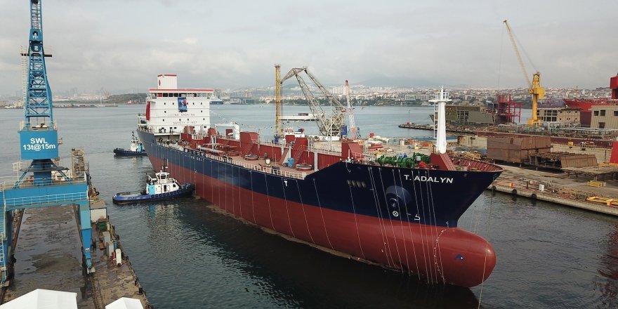 RMK Marine'de T/ADALYN denize indirildi