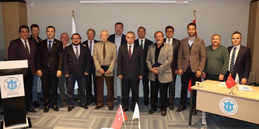 DTO Kocaeli'de kıdemli üyelere vefa