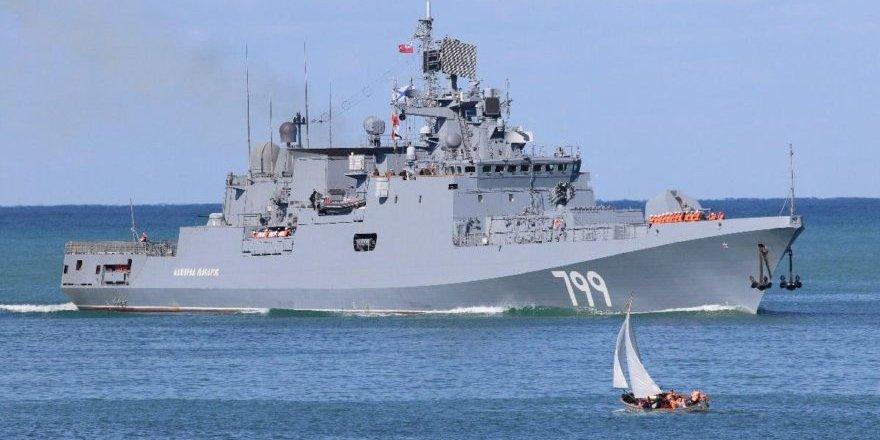 Amiral Makarov fırkateyni Akdeniz'e gidiyor