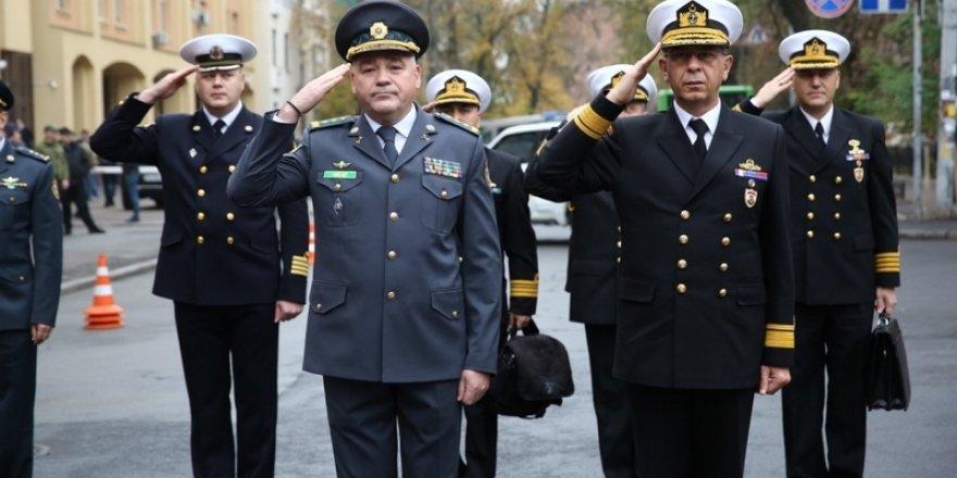 Sahil Güvenlik Komutanı Kendir Ukrayna'da