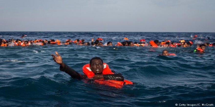 Akdeniz'de facia: 67 göçmen öldü