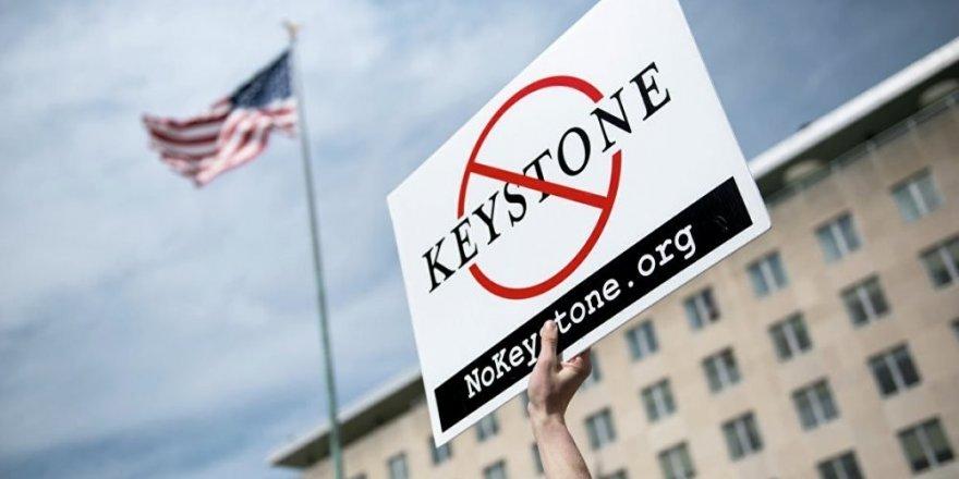 Tartışmalı petrol boru hattına yargı 'Dur' dedi