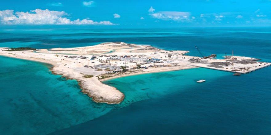 MSC Ocean Cay Marıne Reserve'de son rütuşlar