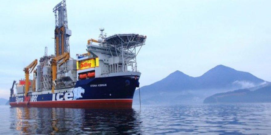 Exxonmobil'in sondaj gemisi bölgede