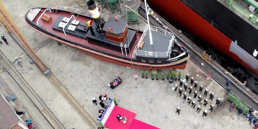 Kartal istimbotu Deniz Kuvvetleri'ne teslim edildi