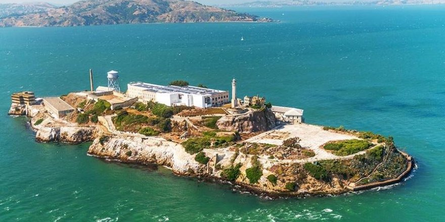 Kaçmanın mümkün olmadığı ada: Alcatraz