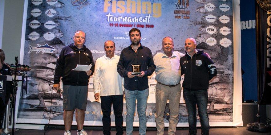 Amatör olta balıkçıları Bodrum'da bir araya geldi
