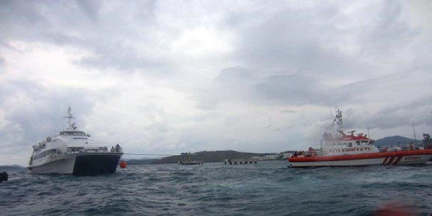 169 yolcusu bulunan feribot son anda kurtarıldı