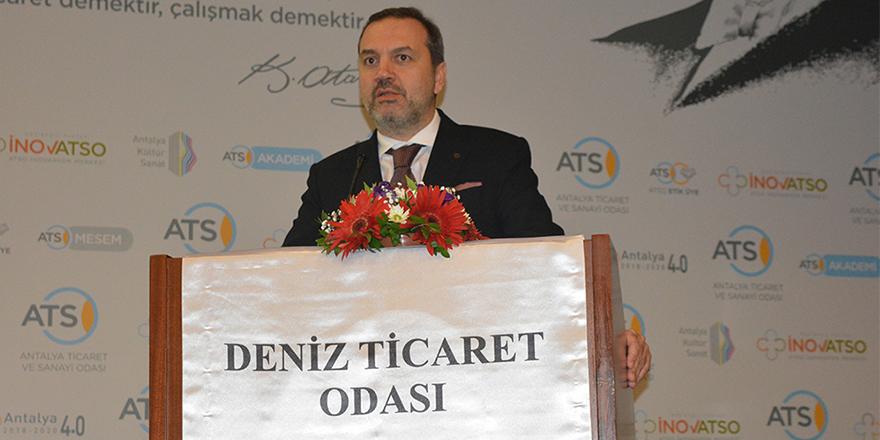 Denizcilik sektörünün sorunları Antalya'da tartışıldı