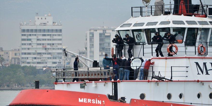 'Gemi kaçırılmasına müdahale tatbikatı' nefes kesti