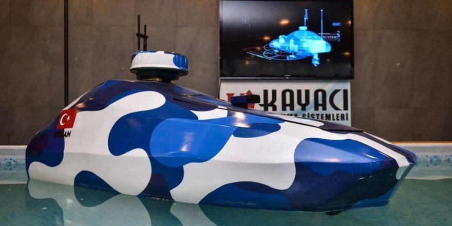 İlk yerli ve milli insansız deniz aracı tanıtıldı, Hürriyet