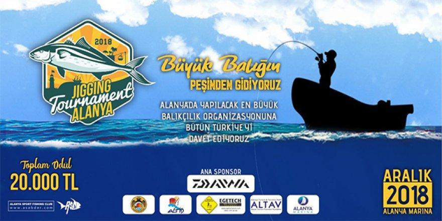 Alanya'da Olta Balıkçılığı Turnuvası başlıyor