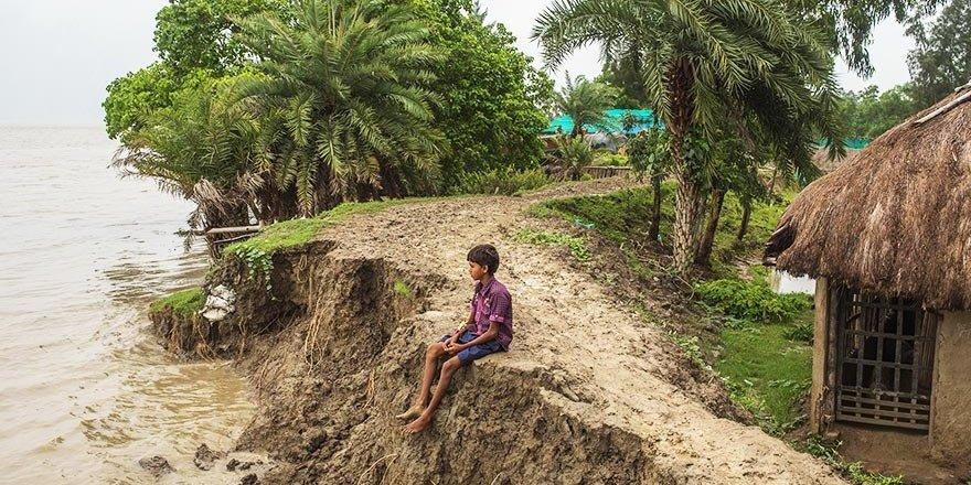 Hindistan'ın batan adası Ghoramara