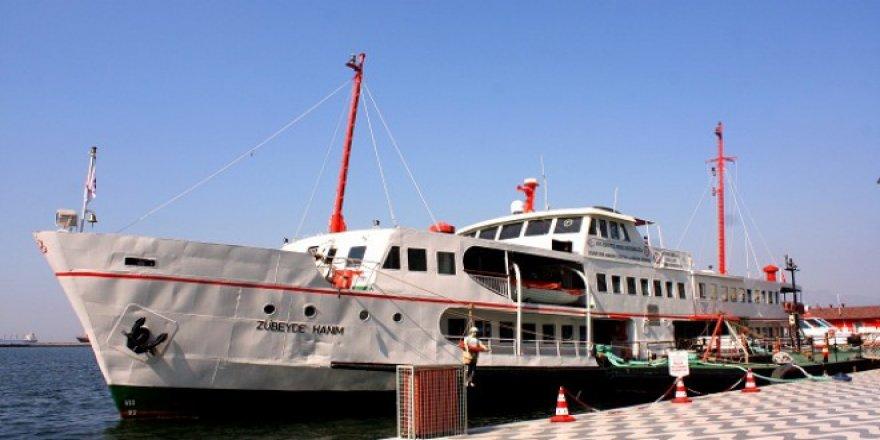 Zübeyde Hanım Gemisi, ziyarete açıldı