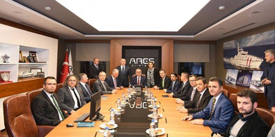 Haluk Görgün Antalya Serbest Bölge'de