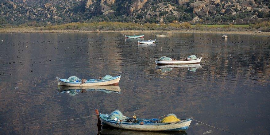 Bafa Gölü biraz nefes almaya başladı