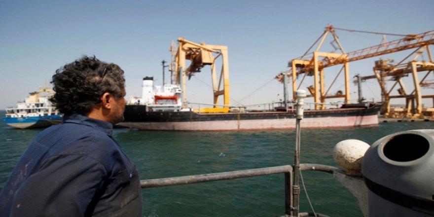 Yemen BM'yi limanda istemiyor