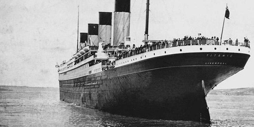 Titanic'le ilgili yıllar sonra ortaya çıkan sır