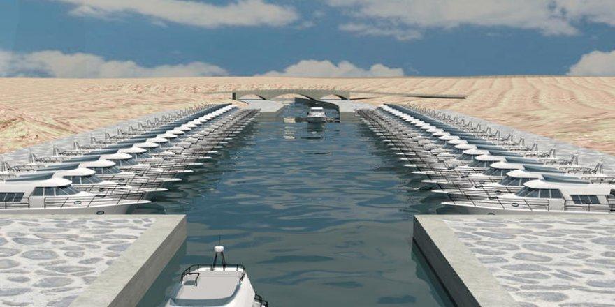 Efes dev antik kanal projesi başladı