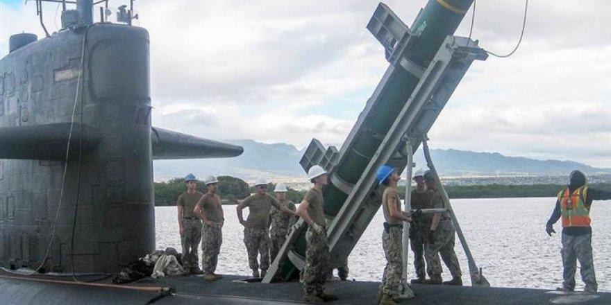 ABD denizaltılarına yeniden Harpoon füzesi