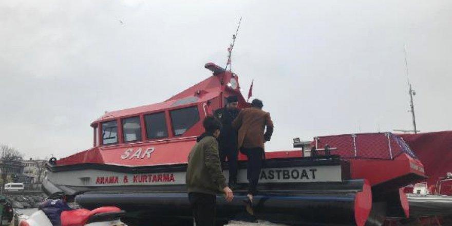 """Sivil arama kurtarma botu """"Barbaros"""" göreve hazır"""