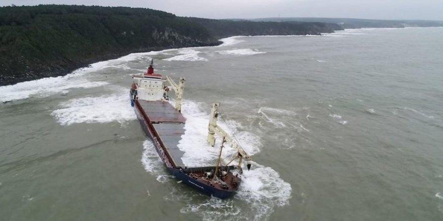 KOSDER'den Şile'de karaya oturan gemi açıklaması