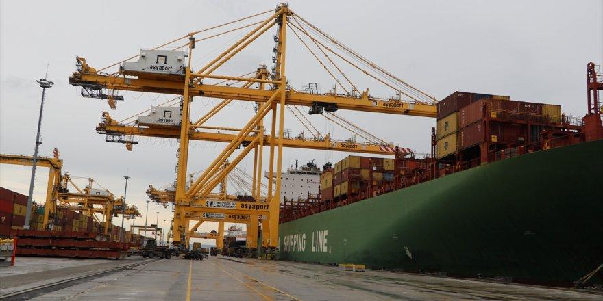 Asyaportilk COSCO gemisini ağırladı